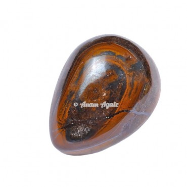 Tiger Eye Stone Egg