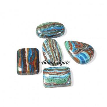 Rainbow Silica Gemstone Cabochons