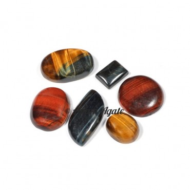 Tiger Eye Mix Gemstone Cabochons
