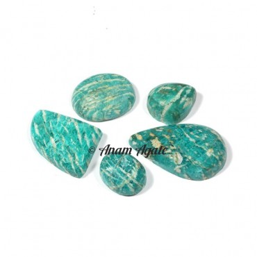Amazonite Gemstone Cabochons