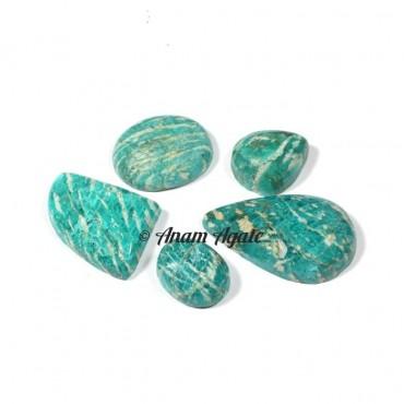 Amazonite Gemstone Cabochons