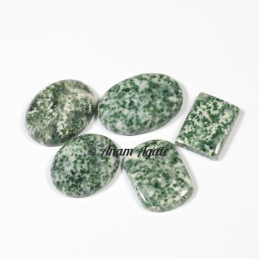 Tree agate Gemstone cabochons