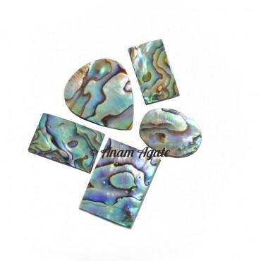 Abalone Shell  Gemstone cabochons