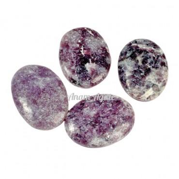 Lepidolite Gemstone Cabochons
