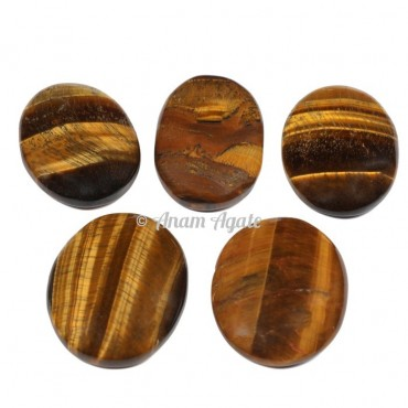 Tiger Eye Gemstone Cabochons