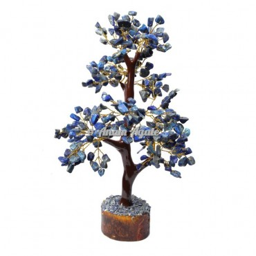 Lapis Lazuli Mseal 300 Chips  Golden Wire Tree