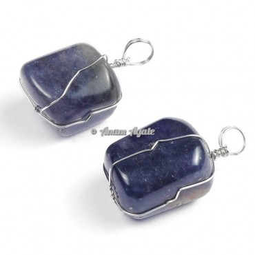 High Quality Amethyst Wire Wrap Pendants