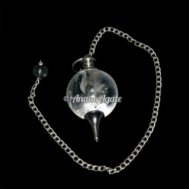 Crystal Quartz Ball Pendulums