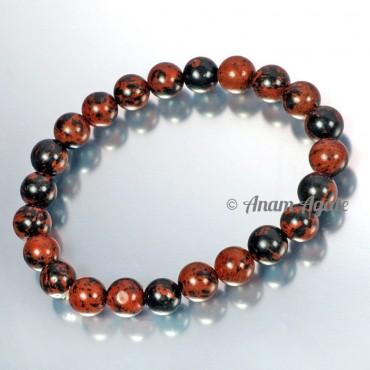 Mahagoni Obsidian Bracelets