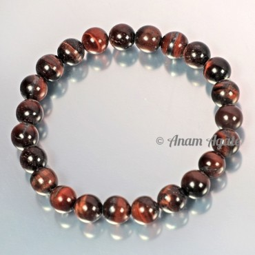 Red Tiger Eye Bracelets