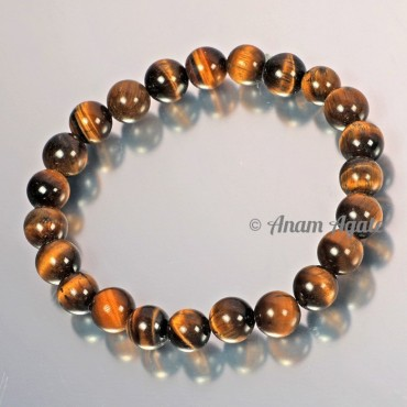 Yellow Tiger Eye Bracelets