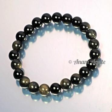 Star Obsidian Bracelets