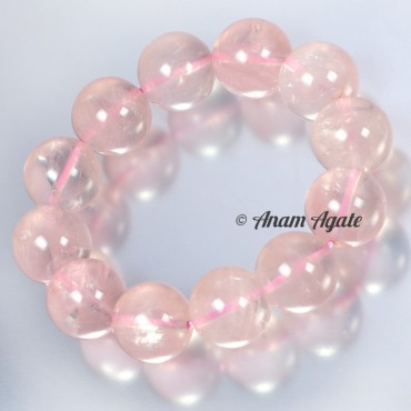 Rose Quartz Big Sizes Bracelets