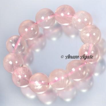 Rose Quartz Big Sizes Bracelets