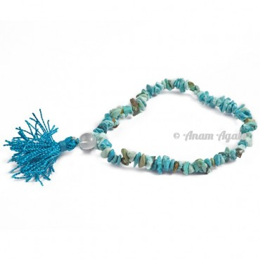 Turquoise Power Chips Bracelets