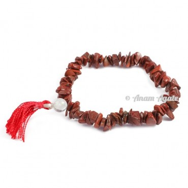 Red Jasper Power Chips Bracelets