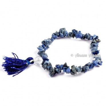 Sodalite Power Chips Bracelets