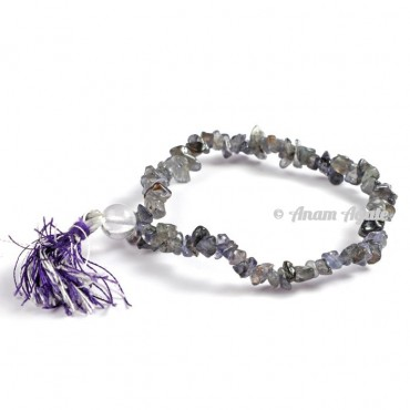 Iolite Power Chips Bracelets
