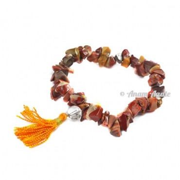Mookite Jasper Power Chips Bracelets