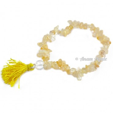 Citrine Power Chips Bracelets