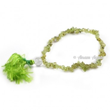 Peridot Power Chips Bracelets
