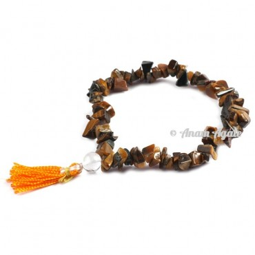 Tiger Eye Power Chips Bracelets