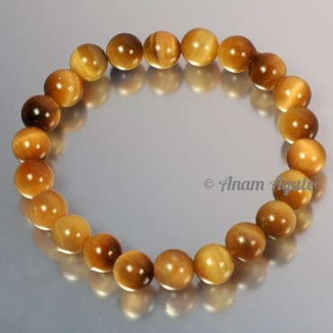 Lemon Tiger Eye Bracelets