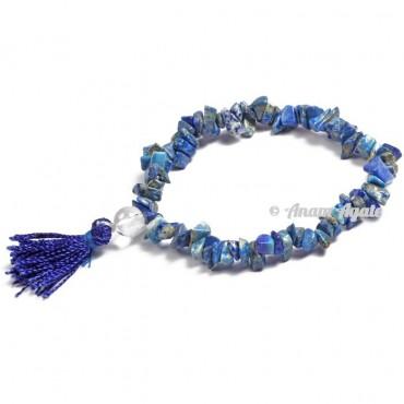Lapis Lazuli Power Chips Bracelets