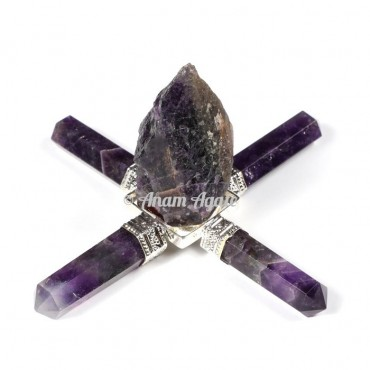 Amethyst Healing Generator with Raw