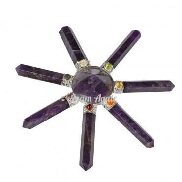 Amethyst chakra Healing Generator 7side