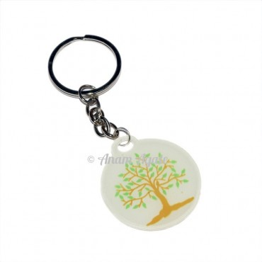 Agate Energy Tree of life Keyring