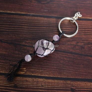 Amethyst Keychain Charms