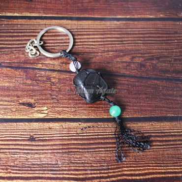 Black Tourmaline Keychain Charms