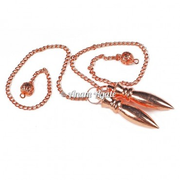 Copper Karnak Healing Pendulums