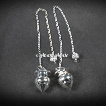 Egyptian Silver Brass Dowsing Pendulums