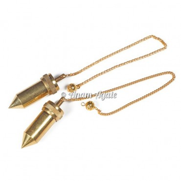 Golden Openable Bullet Metal Pendulums