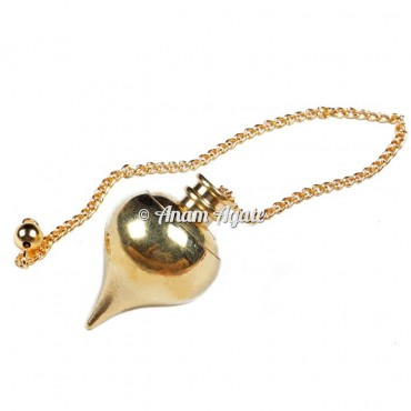 Golden Openable Ball Metal Pendulums