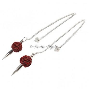 Rudraksha Silver Brass Pendulums
