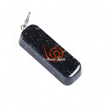 Black Tourmaline Orgone Pendants