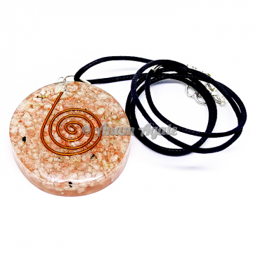 Sunstone Orgonite Pendant EMF Protection