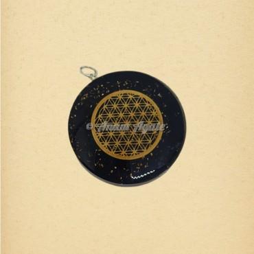 Flower Of Life Orgonite Pendant | Sacred Geometry Symbols Pendants