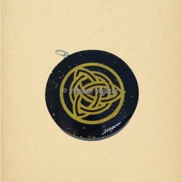 Nordic Symbol Orgonite Pendant | Sacred Geometry Symbols Pendants