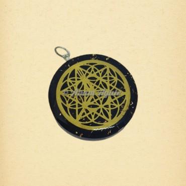 Sacred Geometry Symbol Orgonite Pendant