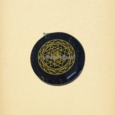 64 Star Tetrahedron Orgonite Pendant | Sacred Geometry Symbols Pendants