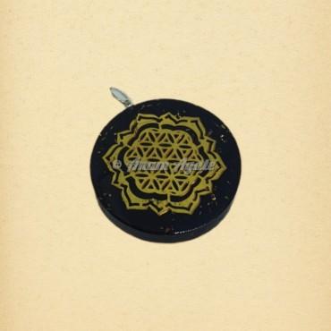 Orgonite Pendant Flower Of Life | Sacred Geometry Symbols Pendants