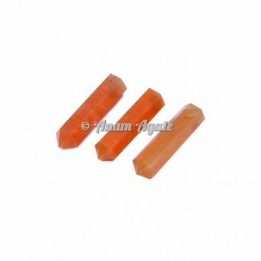 Peach Aventurrine Stone Points