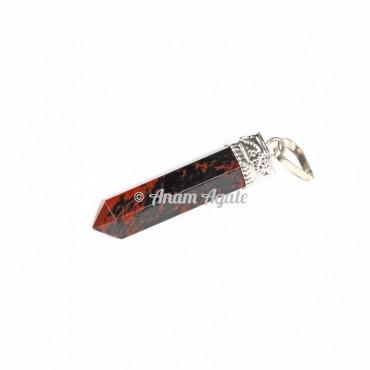 Mahagoni Obsidian Cap Pencil Pendants
