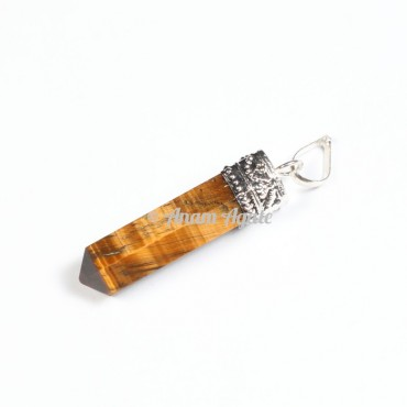 Tiger Eye Cap Pencil Pendants