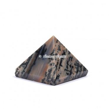 Dendritic Agate Pyramid
