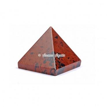 Mahagony Jasper Pyramid